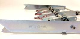 Alvo metal silhueta rearmavel reforçado 4,75mm img7